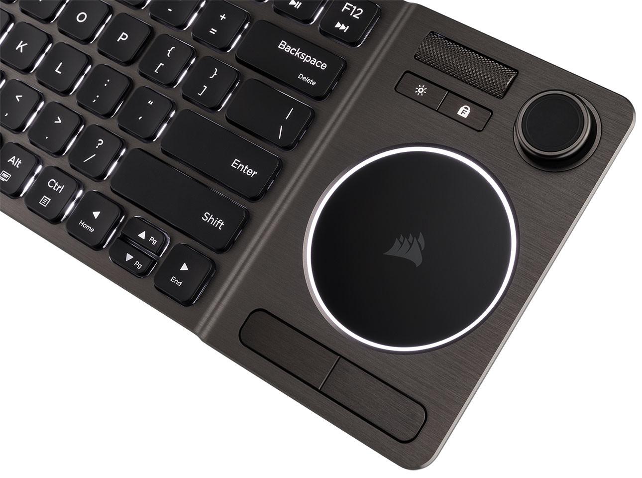 Corsair Rilis Keyboard Nirkabel Unik untuk Hiburan