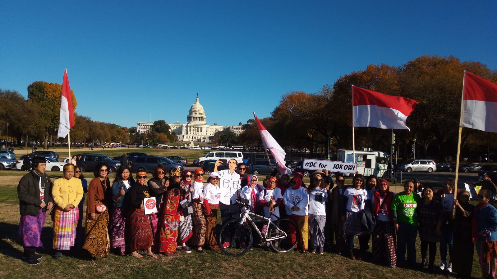 Dukungan buat Jokowi-Ma'ruf dari Washington