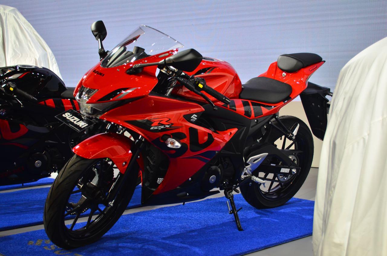 Suzuki Eliminasi Warna Putih Dari Jajaran Gsx R150