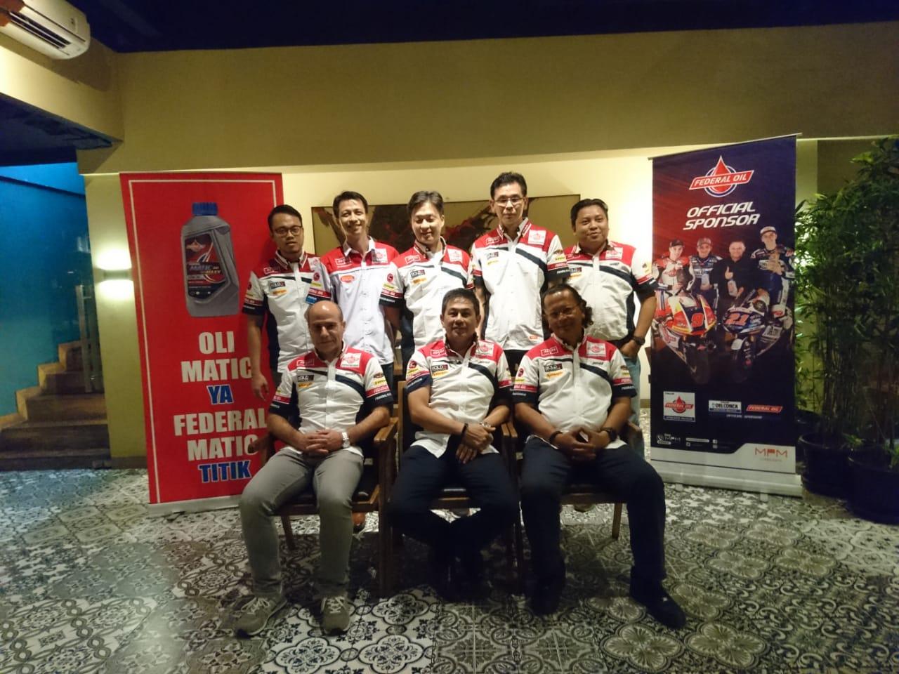 Federal Oil Gresini Moto2 Bakal Makin Indonesia di 2019