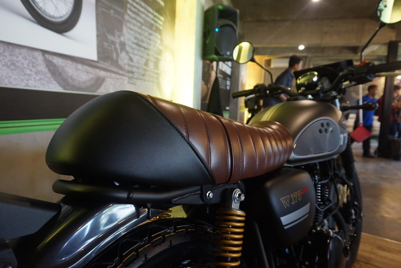 Evolusi Kawasaki W175 jadi Cafe Racer