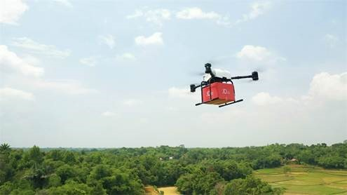 JD Jajal Pengiriman Pakai Drone