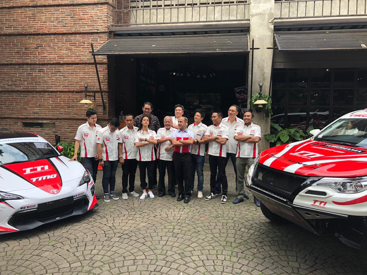 Rio Haryanto Perkuat Toyota Team Indonesia