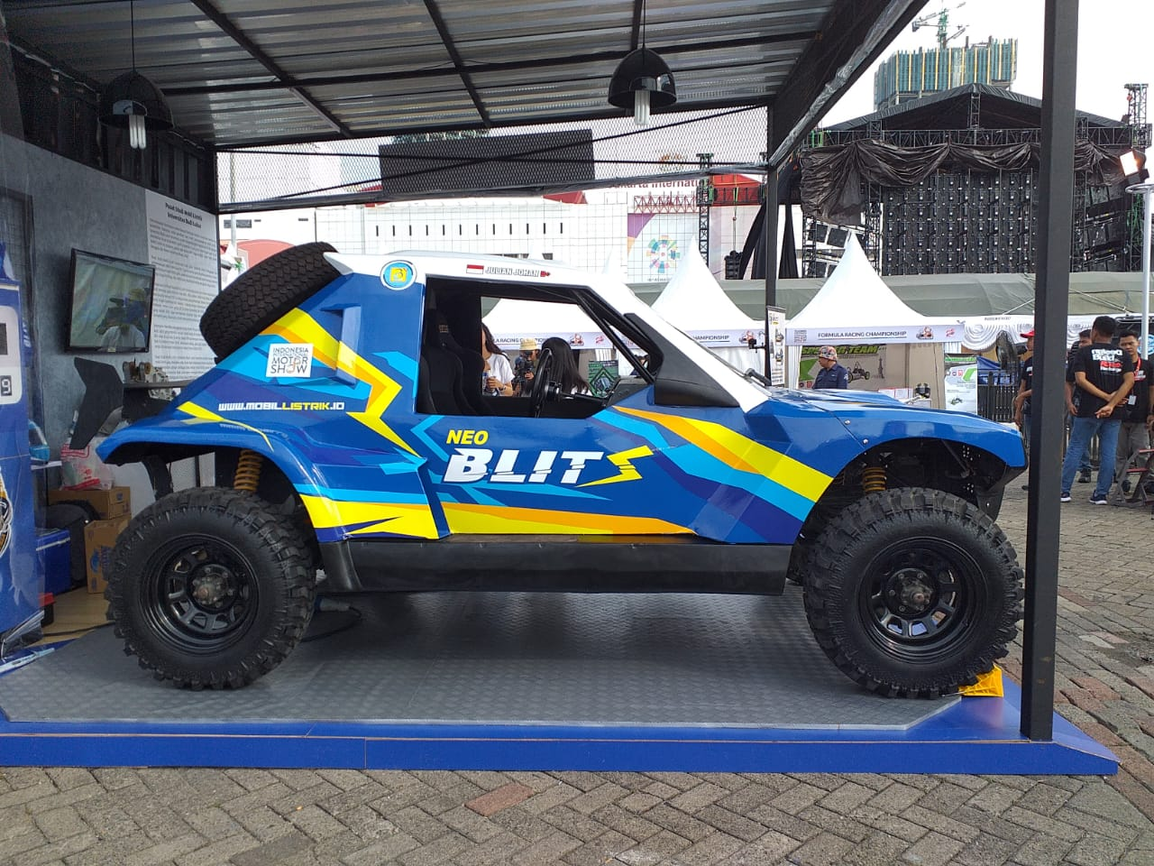 Neoblitz jadi Pembuktian Mahasiswa Indonesia Garap Mobil Listrik