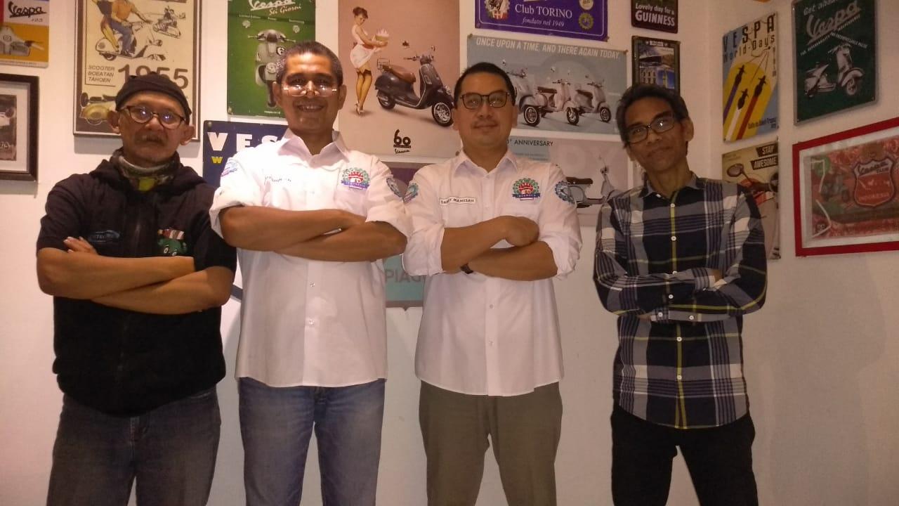 Indonesia jadi Tuan Rumah Vespa World Days 2019