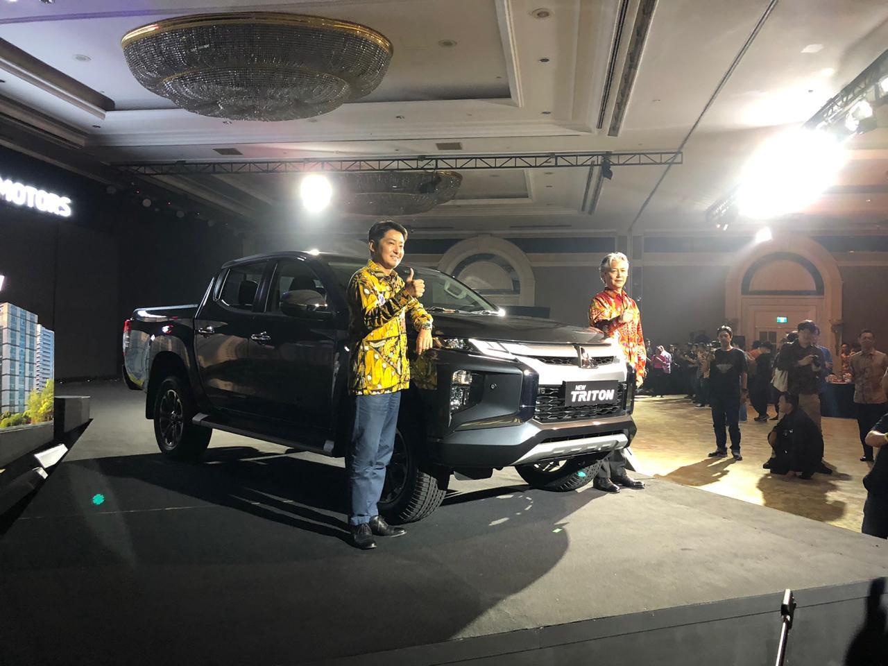 Lebih Ganteng, Mitsubishi Kenalkan New Triton