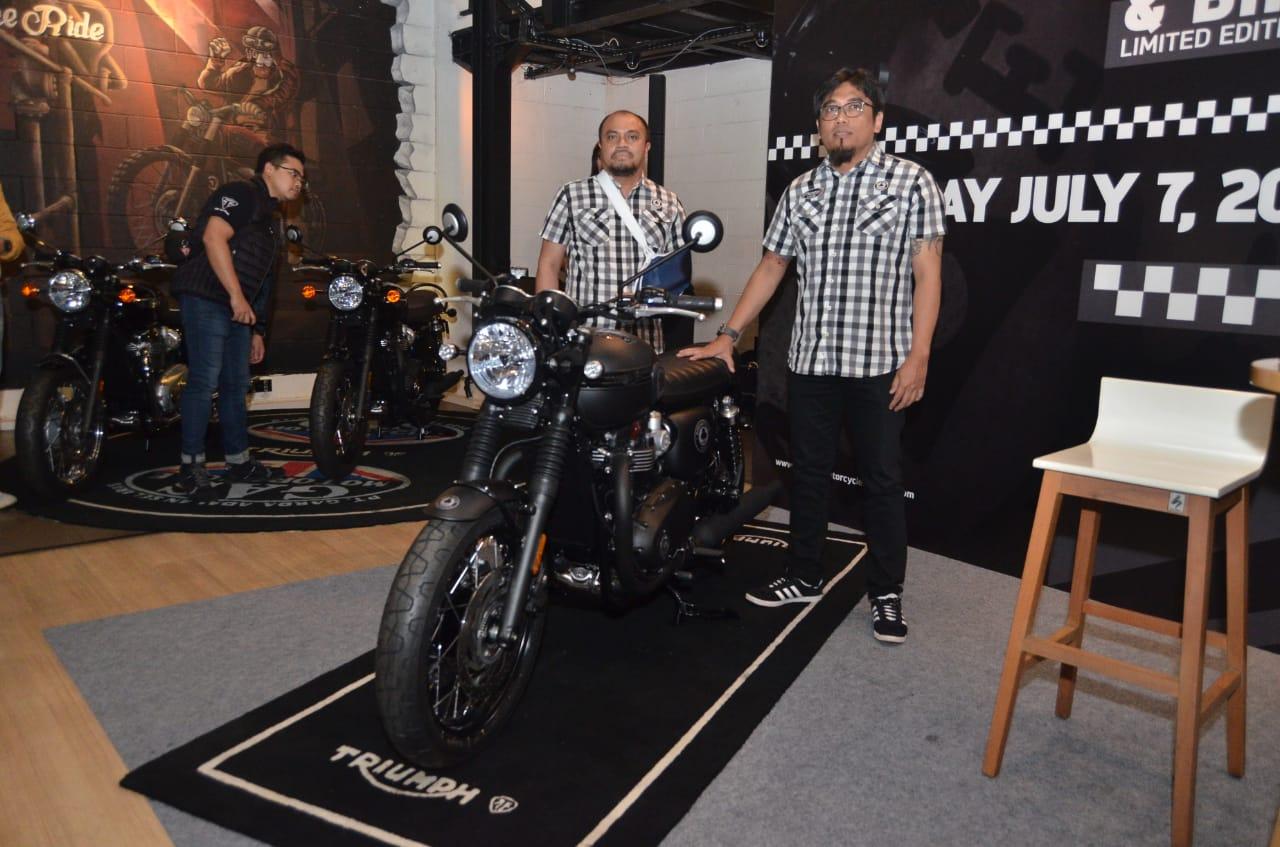 Triumph Bonneville T120 Edisi Terbatas, Goda Bikers Tajir Indonesia