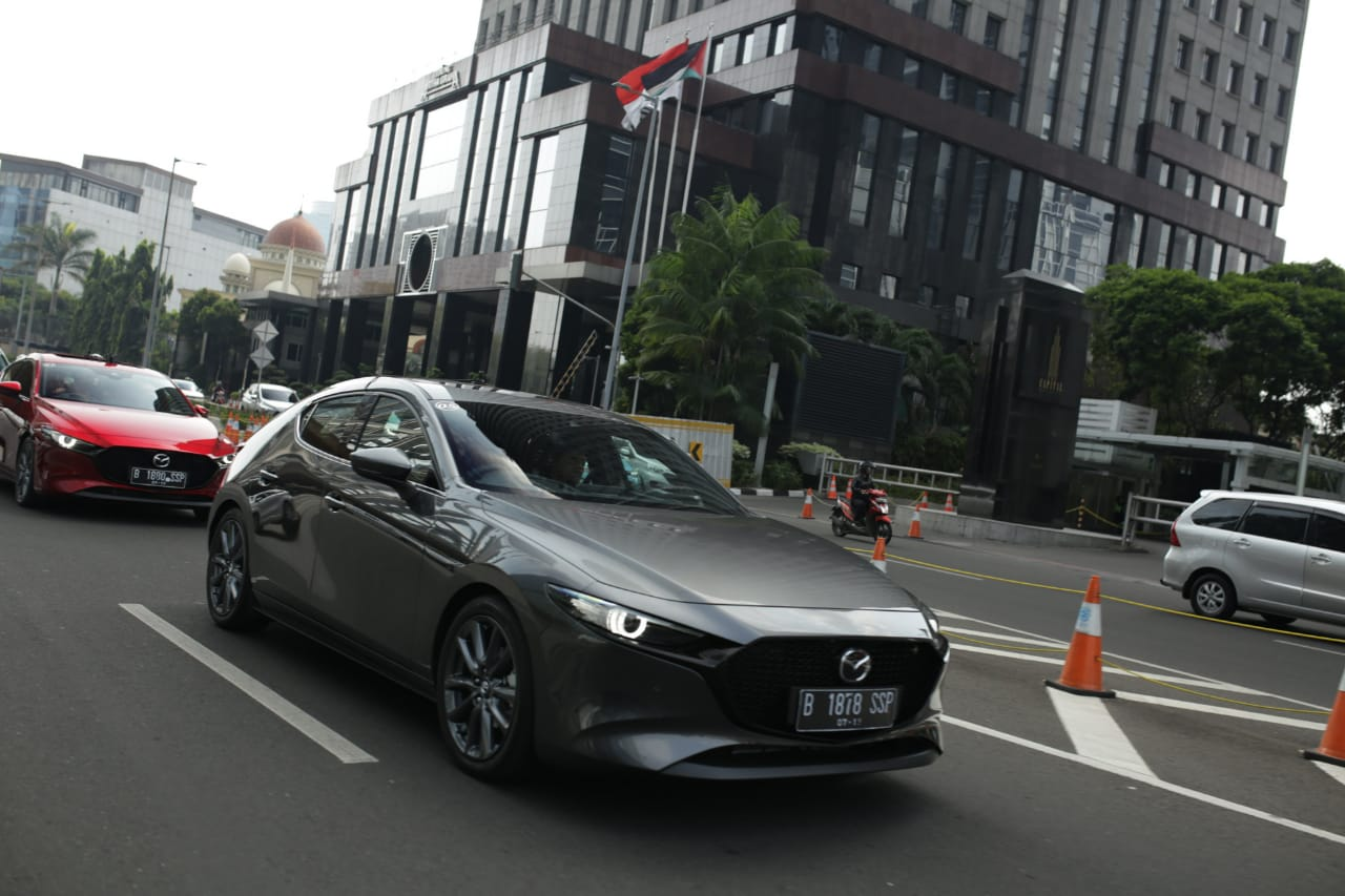 All New Mazda3 Mengaspal di Indonesia