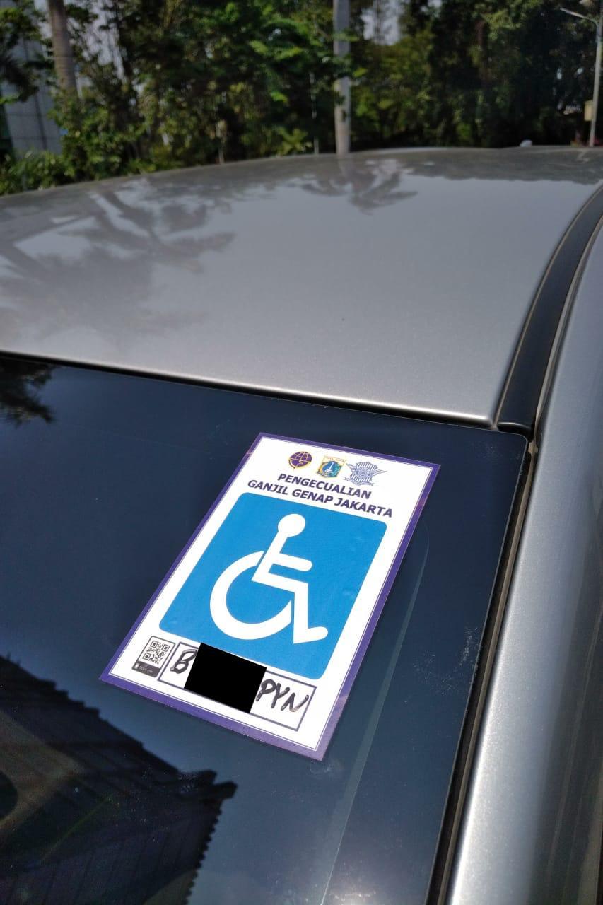 Mobil Pengangkut Disabilitas, Bebas dari Regulasi Ganjil-Genap?