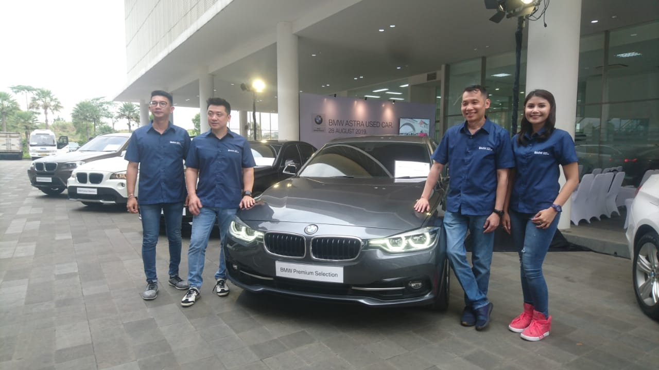 Pasar Mobil Bekas BMW Incar Konsumen yang Ingin Naik Kelas