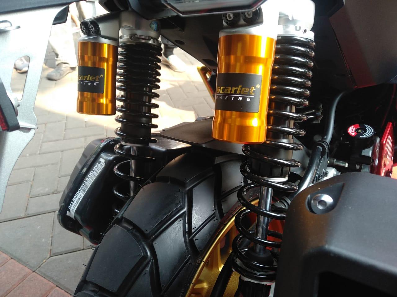 Komponen Aftermarket Honda ADV150 Mulai Berseliweran