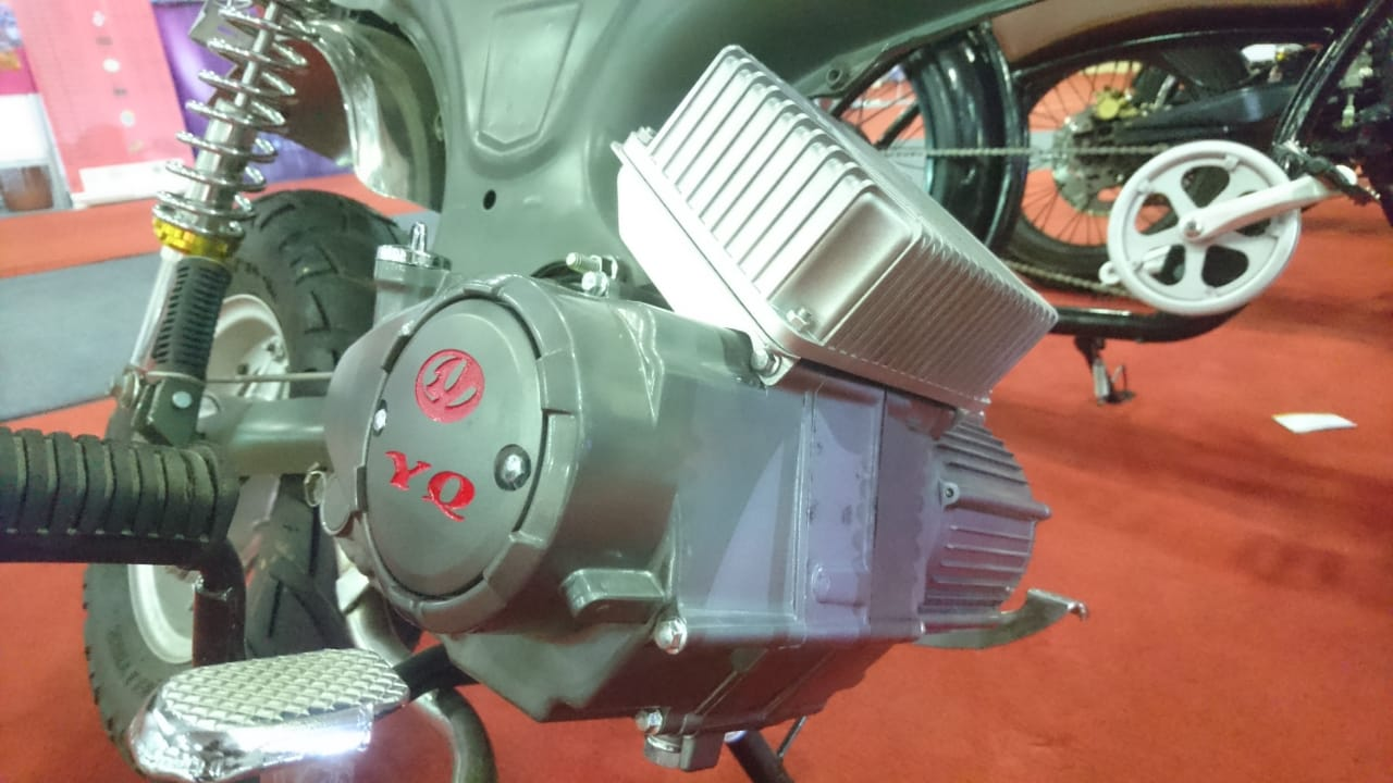 Segini Biaya Suntik Teknologi Motor Listrik di Motor Konvensional