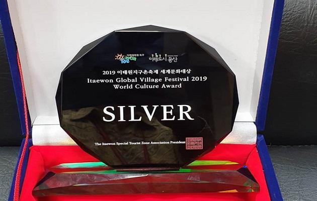 Indonesia Terima Medali Perak-World Culture Award di Seoul