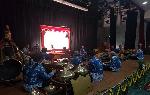 Indonesia Hadiahkan Gamelan Jawa ke Universitas JNU India