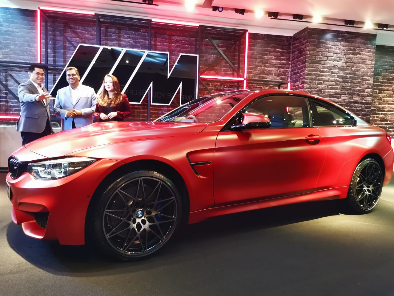Hanya Ada 2 Unit BMW M4 Competition di Indonesia