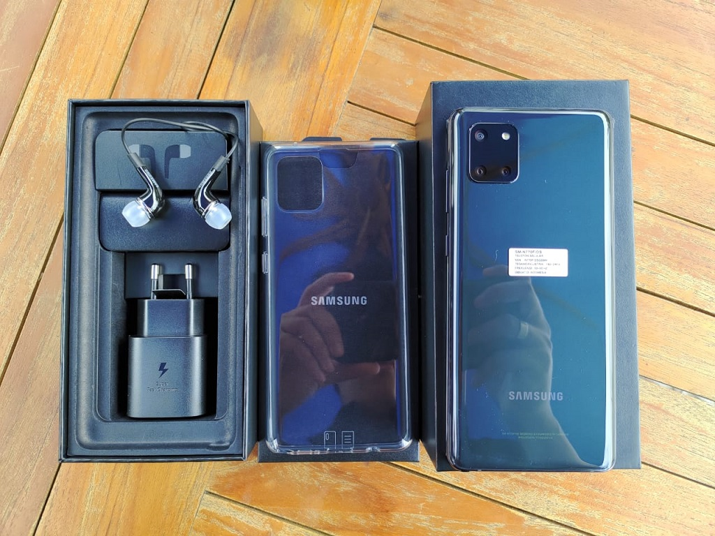 Unboxing Samsung Galaxy Note 10 Lite