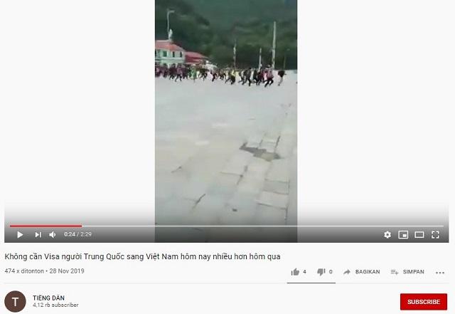 [Cek Fakta] Ribuan Warga Tiongkok Melarikan Diri ke Vietnam Akibat Virus Korona? Ini Faktanya