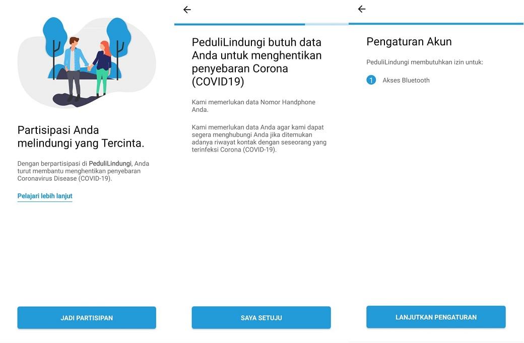 Aplikasi Pencegahan Covid-19 PeduliLindungi Sudah Bisa Diunduh