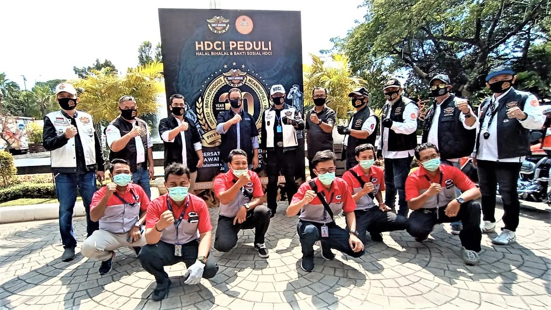 Para Bikers Moge Geruduk Balai Kota Jakarta, Ada Apa?