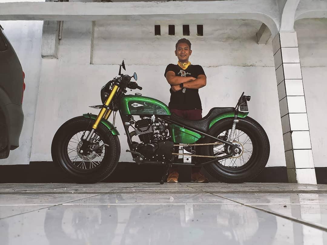 Bikin Motor Presiden, Atenx Katros Ekstra Hati-Hati