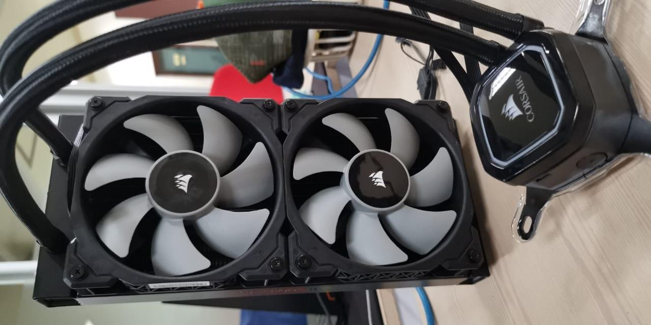 Menjajal Liquid Cooler Corsair iCUE H100i RGB Pro XT