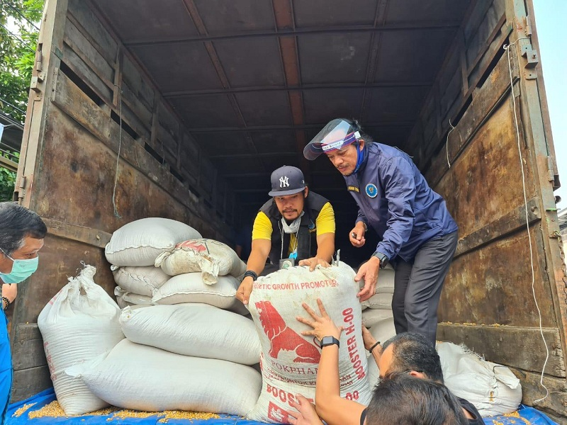 BNN Gerebek Gudang Sabu di Tangerang