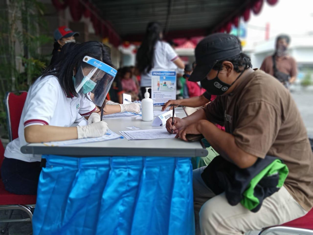 Peduli Kesehatan Bikers Yogyakarta di Tengah Pandemik