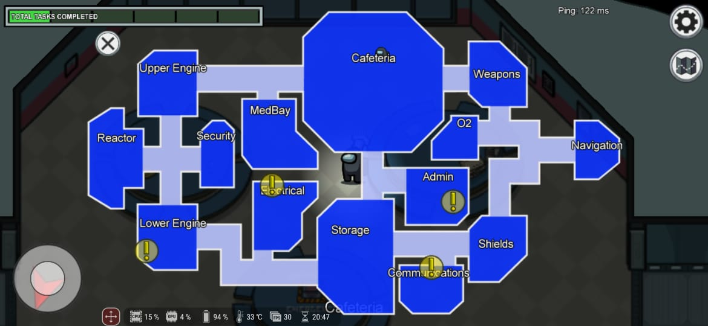 Impostor, Ini Daftar Task Crewmate di Among Us Peta The Skeld