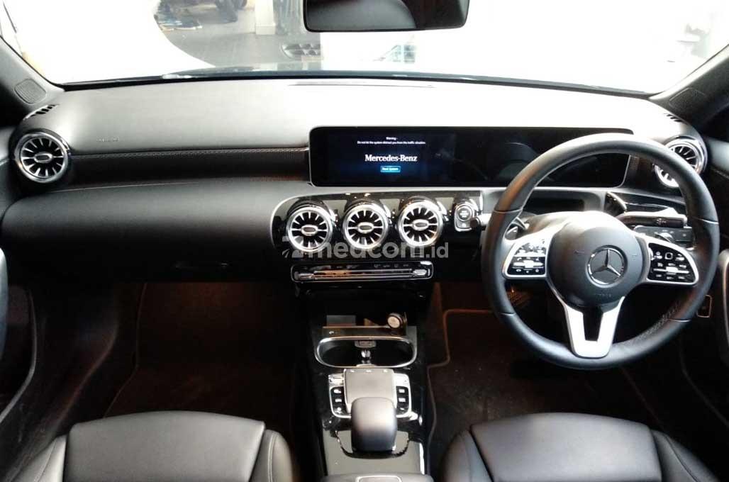 Sasar Entry-Level, Mercedes-Benz Andalkan A-Class Sedan