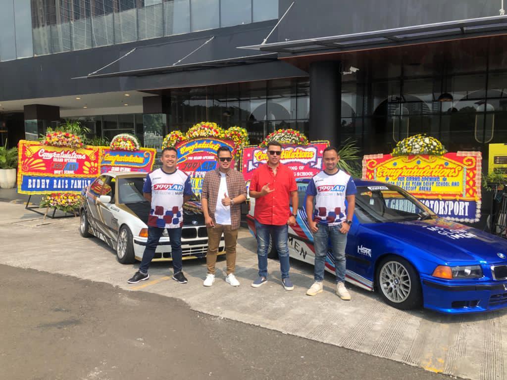 Crazy Rich Malang Bikin Sekolah Drift Pertama di Indonesia