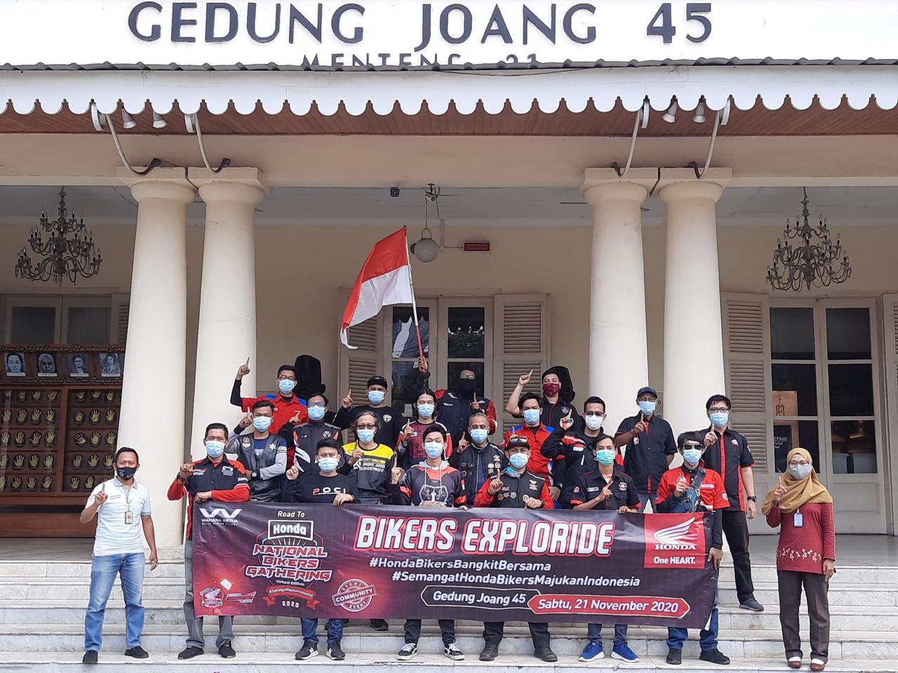 AHJ Keliling Jakarta Tebar Kebaikan