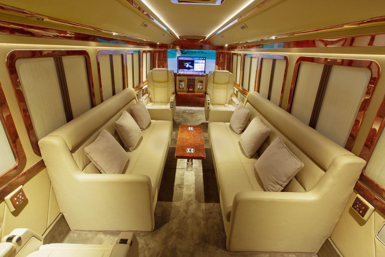 BAV Punya Motorhome untuk Keluarga Sultan, Intip Dalamnya