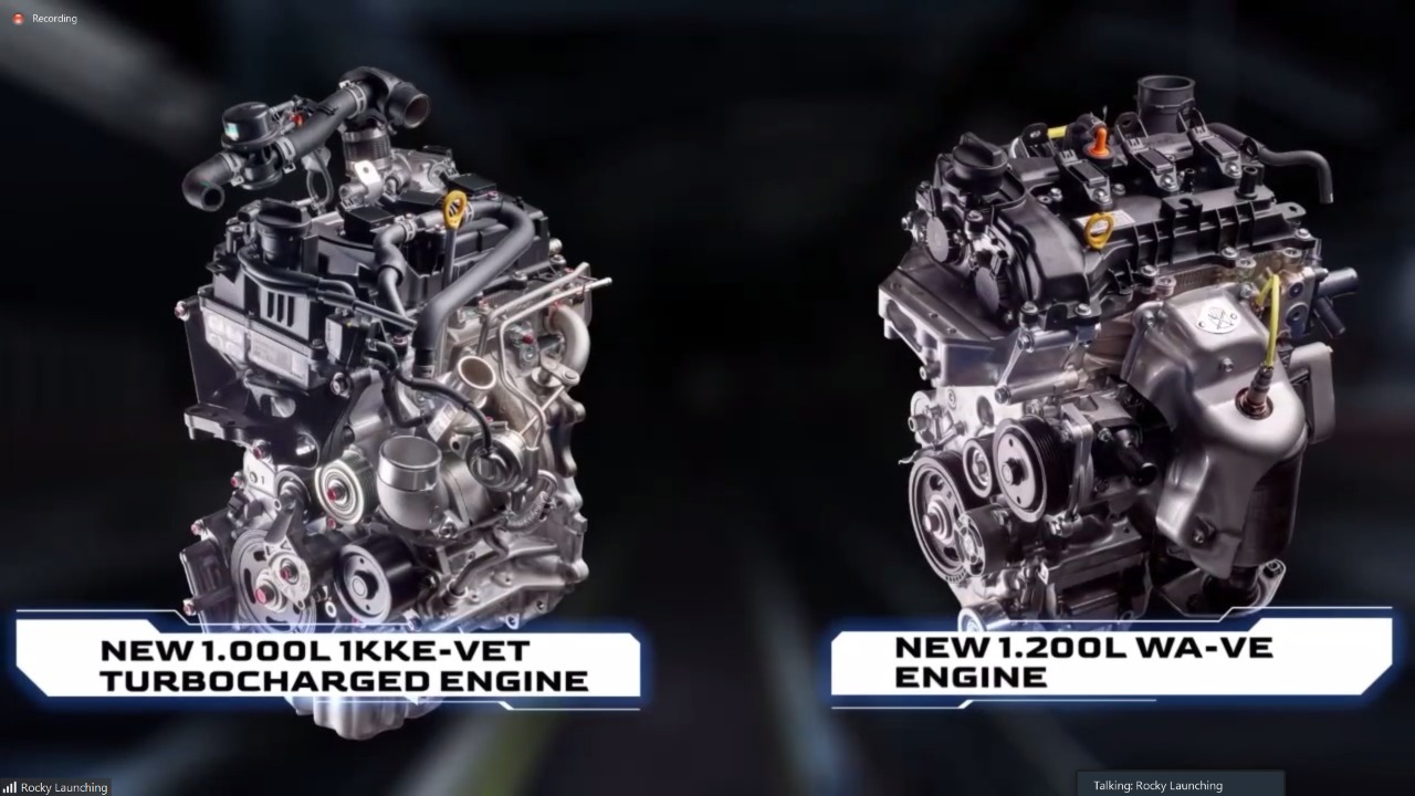Lebih Lengkap, Toyota Raize Punya 2 Pilihan Mesin