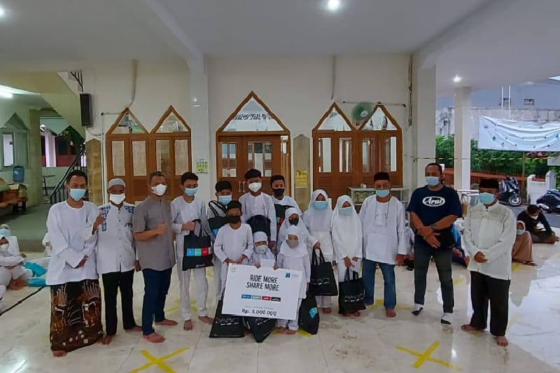 Forwot Ajak Anak Yatim & Dhuafa Buka Puasa Bersama