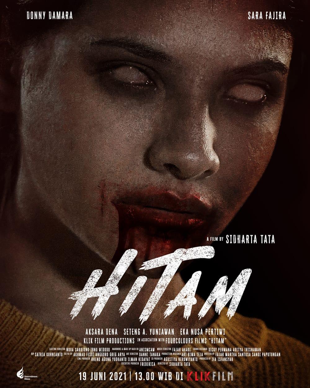 Sara Fajira Jalani Debut Akting lewat Film Hitam