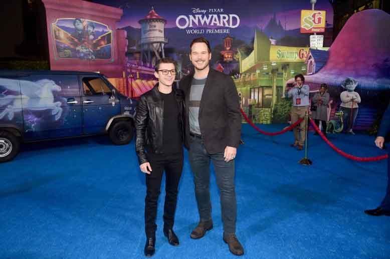 Aktris Febby Rastanty Nonton Film Onward Bareng Chris Pratt dan Tom Holland