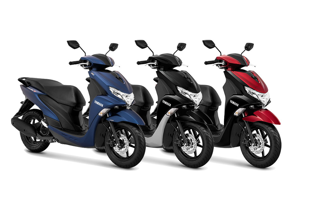 Awal Tahun, Yamaha Berikan FreeGo Baju Baru