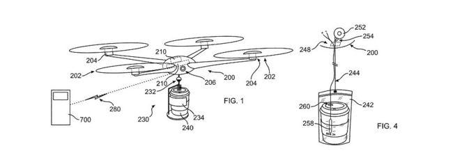 IBM Patenkan Drone Pengantar Minuman