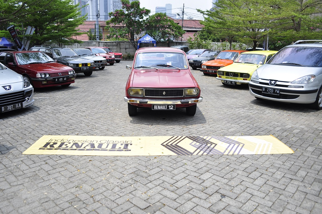 Pamer 'Harta Karun' di Saturday French Automobile Meet-Up