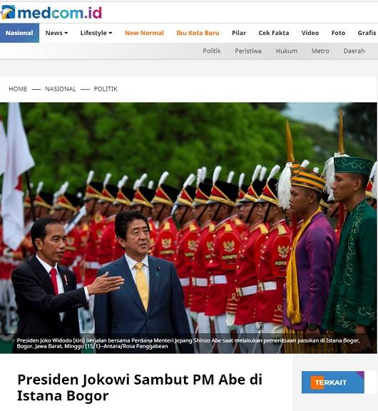 [Cek Fakta] Foto Presiden Joko Widodo Ambil Gaji Bulanan ke Bos China? Ini Faktanya