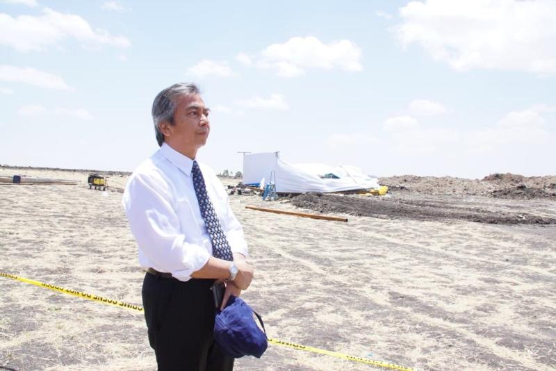 Dubes RI Kunjungi Lokasi Jatuhnya Pesawat Ethiopian Airlines