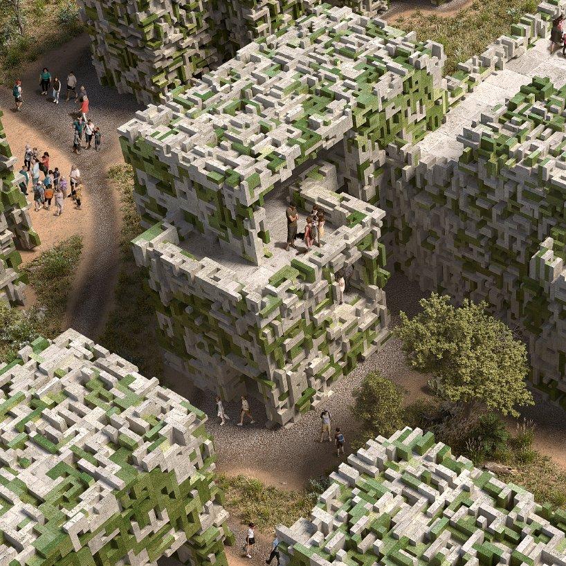 Desa Ramah Lingkungan yang Dibangun dari Alga