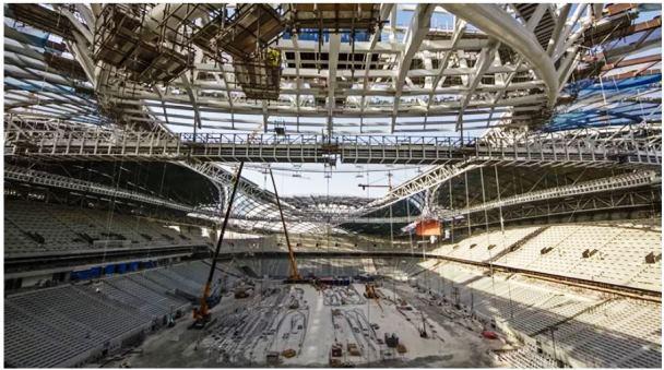 Stadion Al Wakrah Beratap Layar Kapal Arab