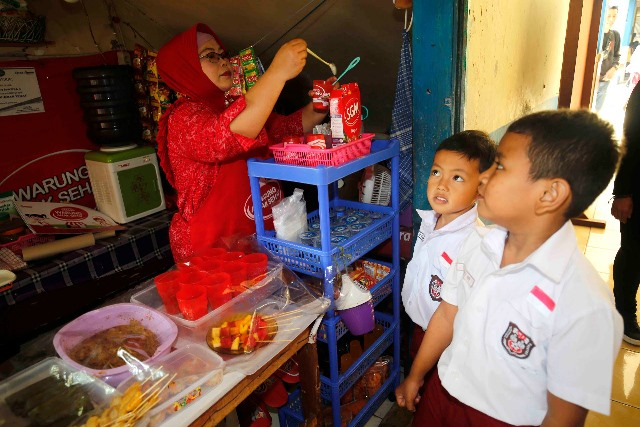 Dukungan bagi Ibu Pengelola Kantin Sehat