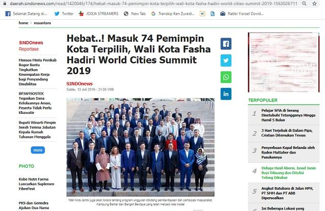 DR. Anies Baswedan Dinobatkan sebagai Gubernur Terbaik di Dunia