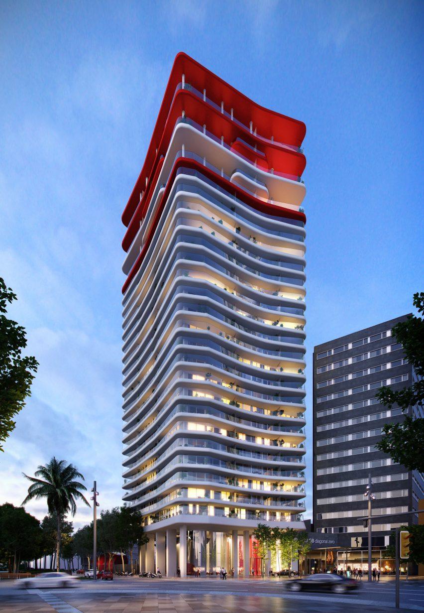 Apartemen Mewah 'Merah Putih'' di Barcelona