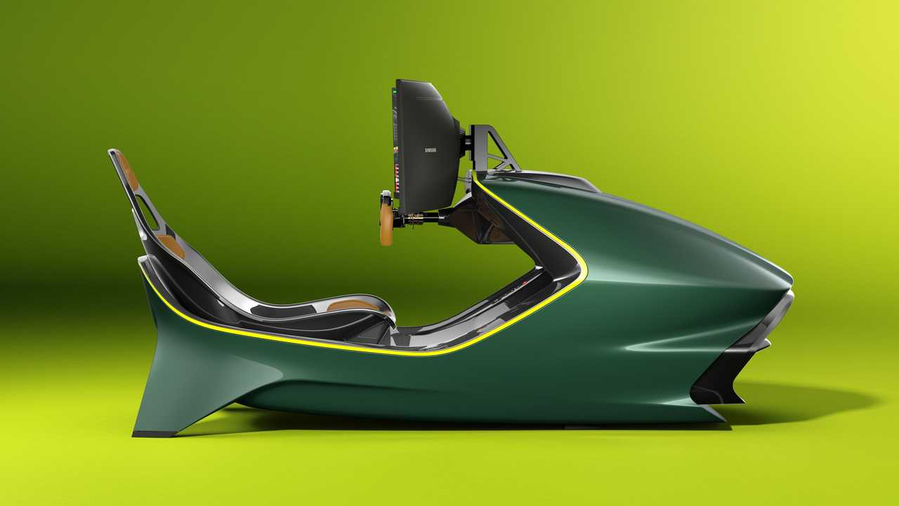 Aston Martin Ciptakan Perangkat Esports Racing Simulator