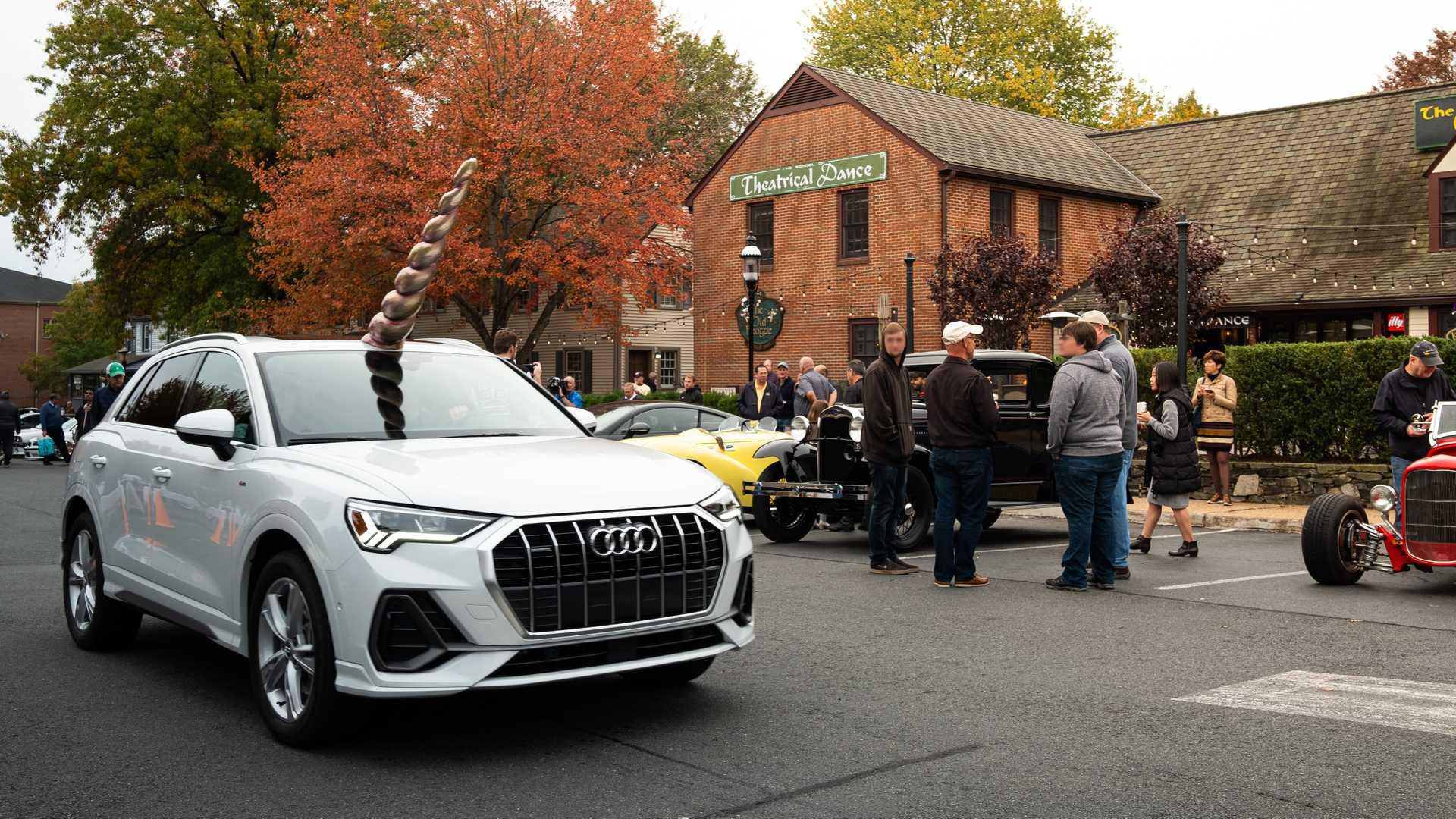 Audi Qnicorn Hanya Muncul Saat Halloween