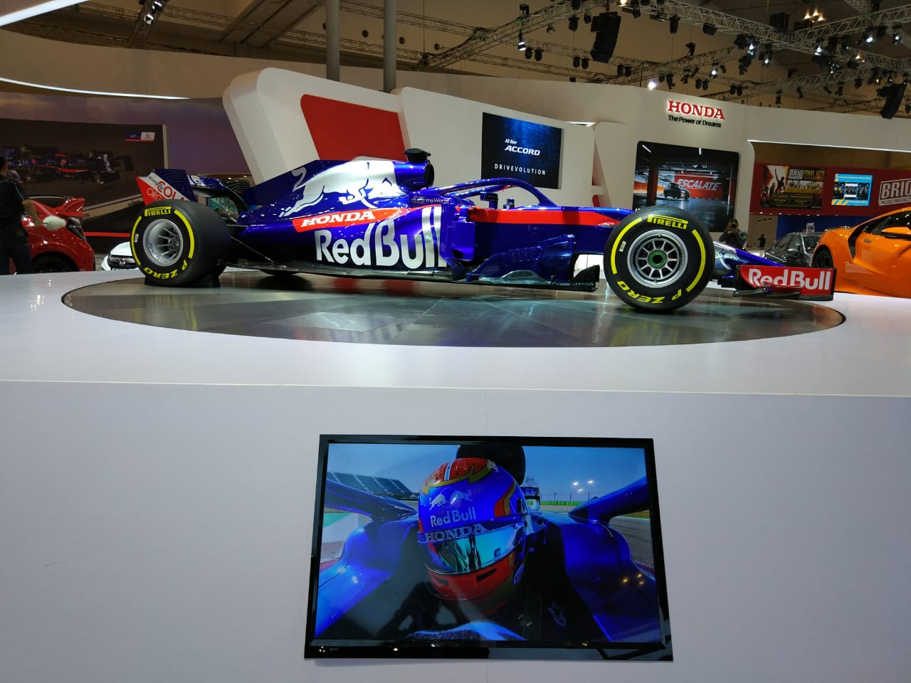 Toro Rosso Honda STR14, Tetap Curi Perhatian di GIIAS 2019