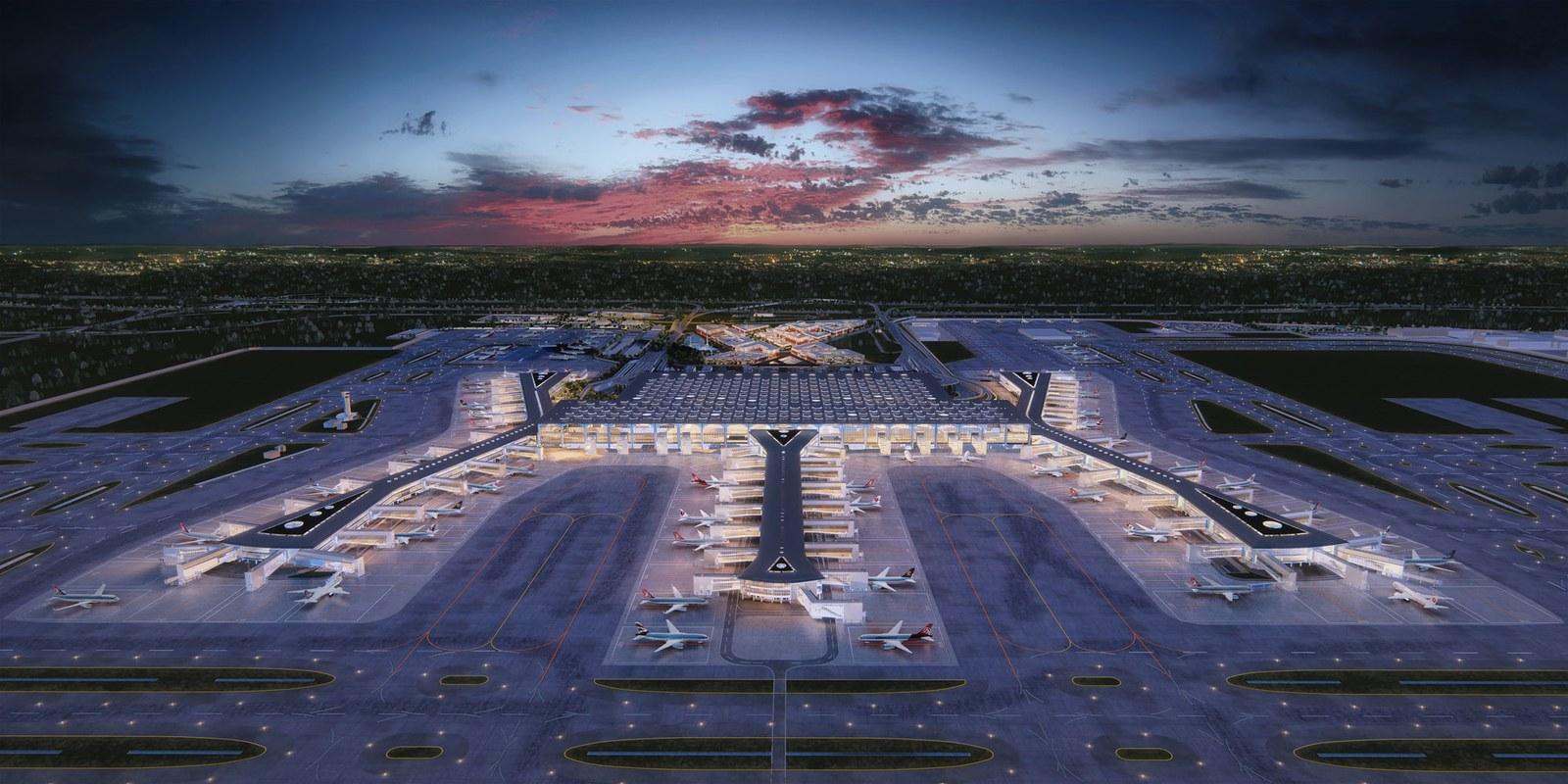 5 Bandara Paling Futuristik di Dunia